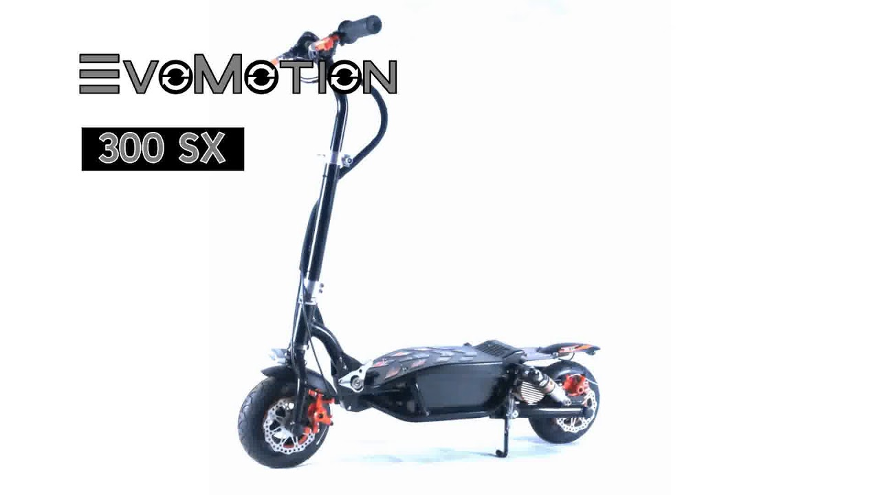 electric scooter comparison EvoMotion 300SX