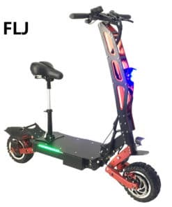 electric scooter comparison FLJ S8